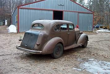 1937 Packard 120 Sedan